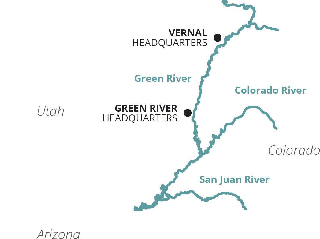 Colorado Plateau Map