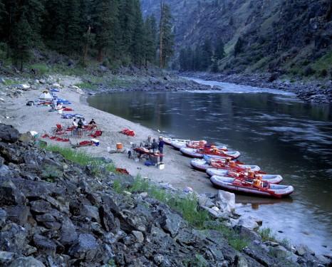Main Salmon River Rafting