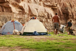 Camping in Cataract Canyon