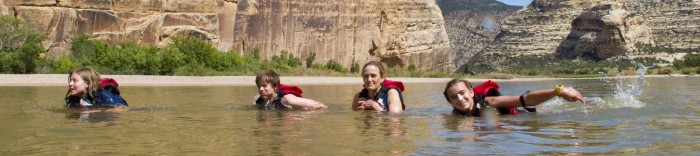 Green River Rafting -  Family Fun