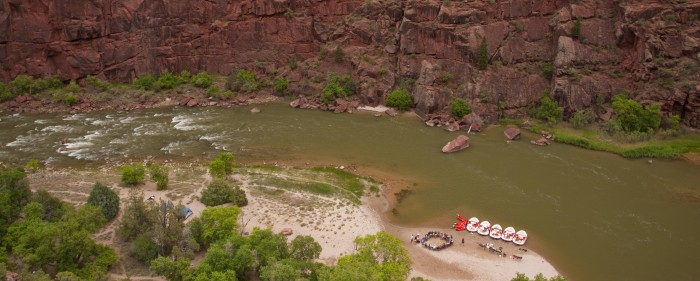Lodore Canyon Rafting