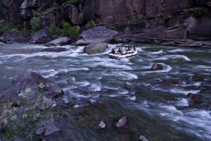 Rafters on the Green River.