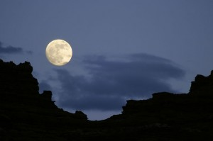 Full Moon in the Canyon