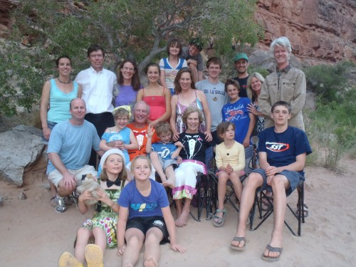 Petzold Family on the San Juan River