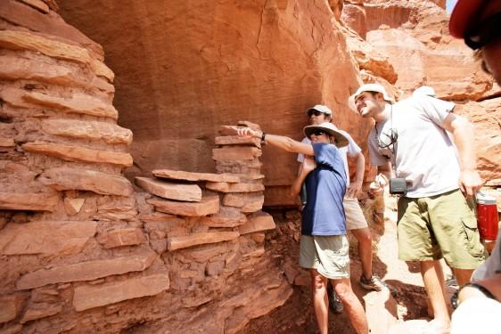 Exploring Indian Ruins