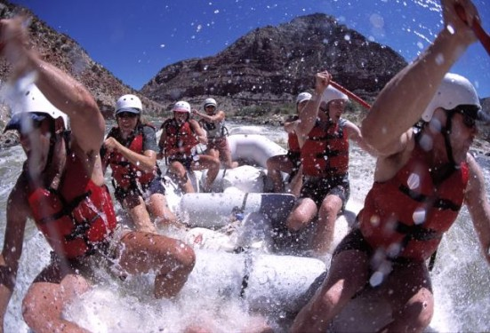Paddle Rafting