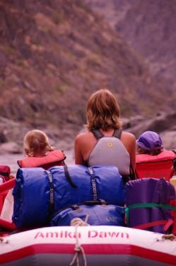 Idaho raft Amika Dawn