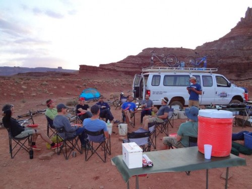 Group White Rim Trail