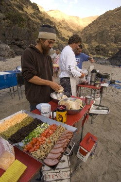 Salmon River Canyon food