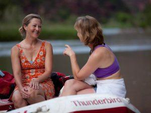 Women's river trips Lodore Canyon