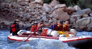 River Rafting Trips on the Green River through Lodore Canyon
