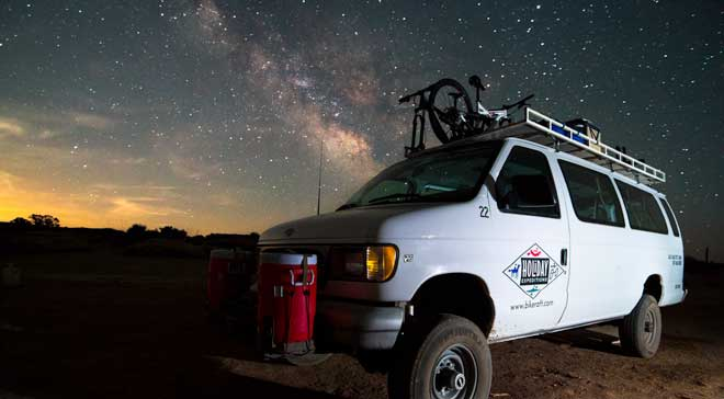 Stargazing in National Parks