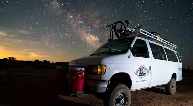 Stargazing in National Parks