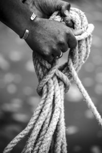 Black and White Rope WW