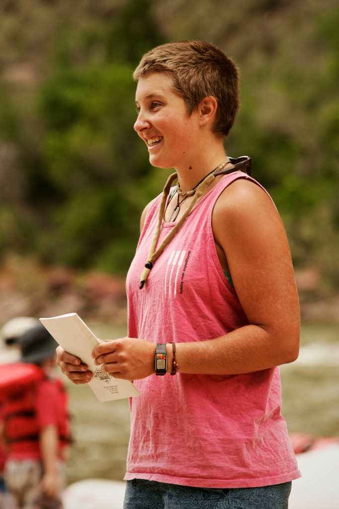 Profiles Rafting Guide Lauren Wood