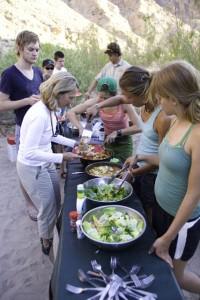 Dinner Time, River Trip, San Juan River, Utah