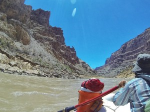Rafting through Cataract Canyon on the Colorado River