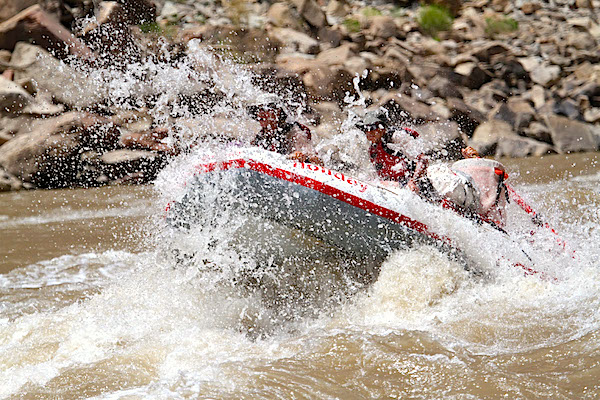 3 day Colorado River Rafting trip through Cataract Canyon