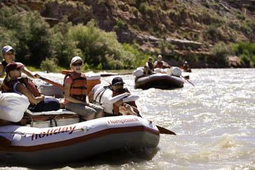 River Running, San Juan River, Utah