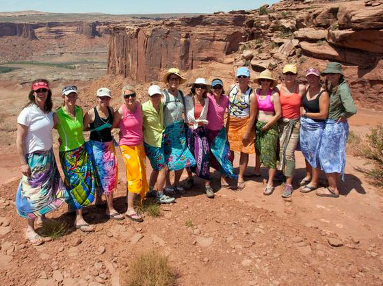All Womens trip on the White Rim Trail