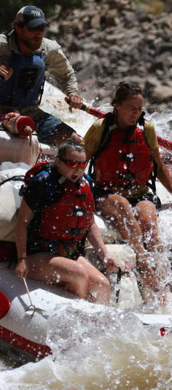 Splashing your fears on a whitewater rafting trip
