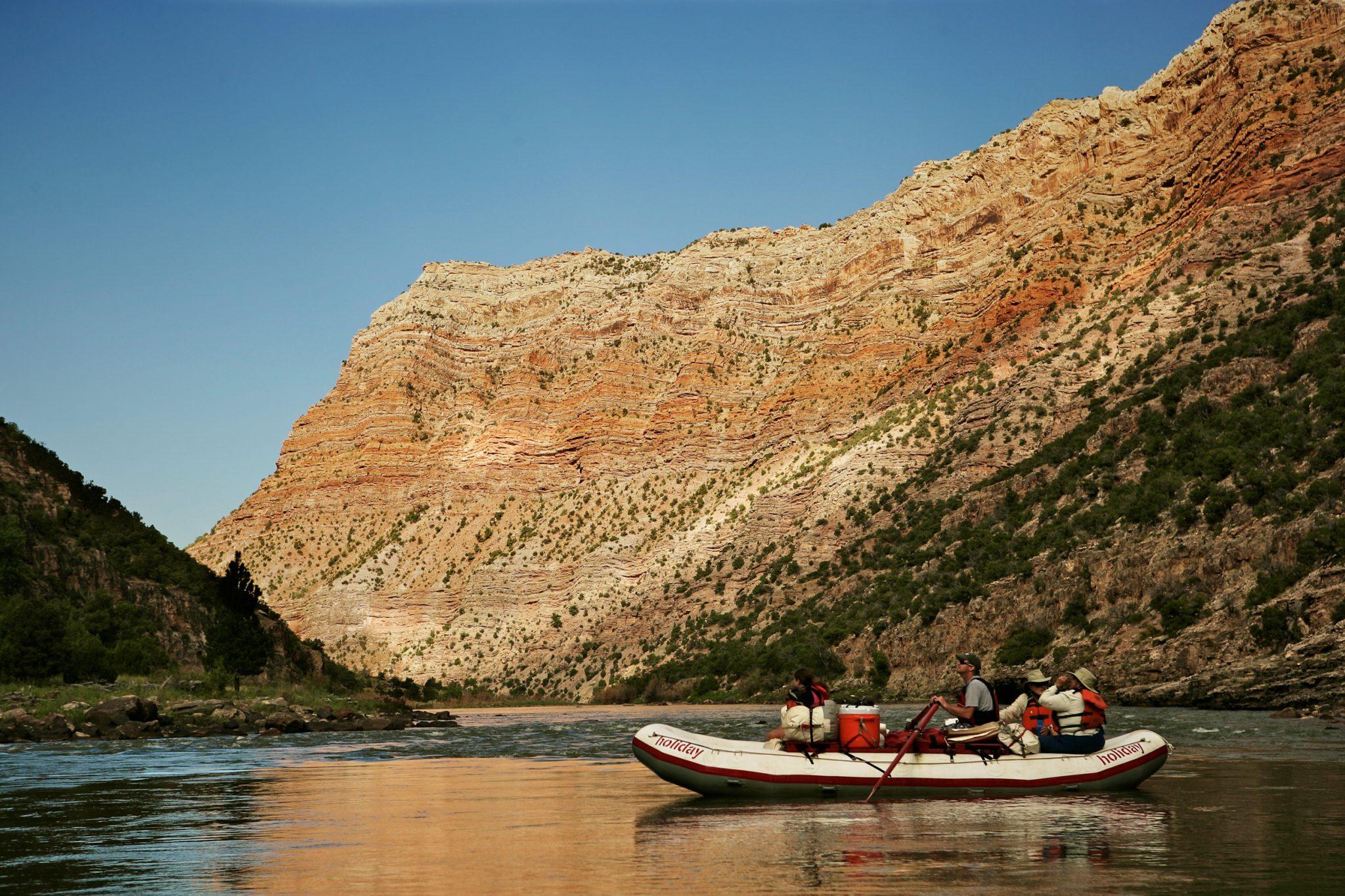 Lodore Canyon River Boats