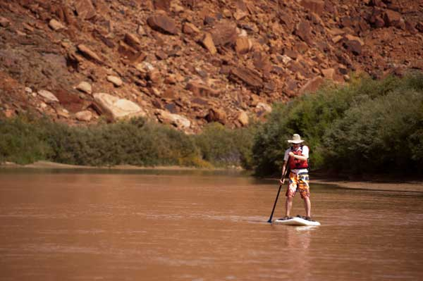 Colorado River Rafting Stand-Up Paddleboarding