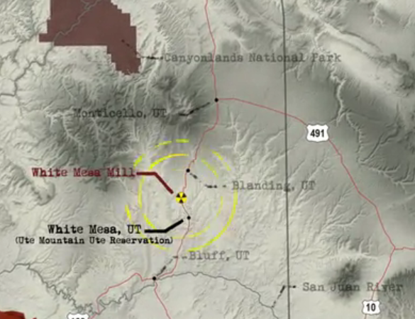 Sacrifice Zones And The Water Of White Mesa Sacrifice Zones