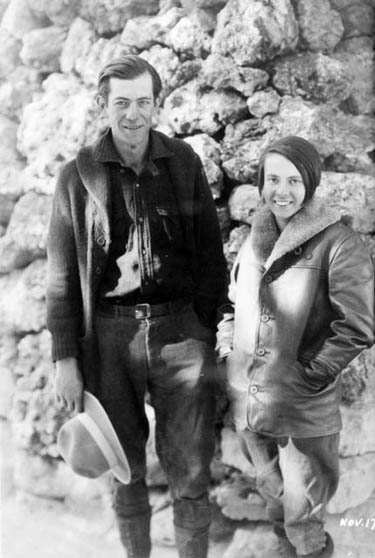 Glen & Bessie Hyde Nov. 17th 1928 Credit: Northern Arizona University