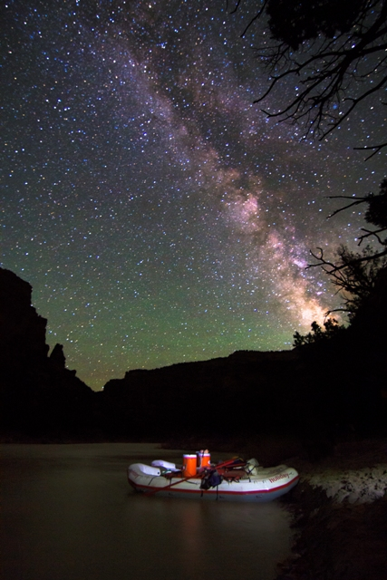 Yampa River Rafting Dark Sky Park