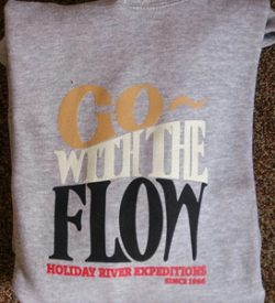 Go With The Flow Hoodie Grey