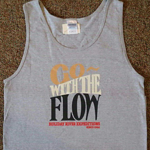 Go With The Flow Grey Tank