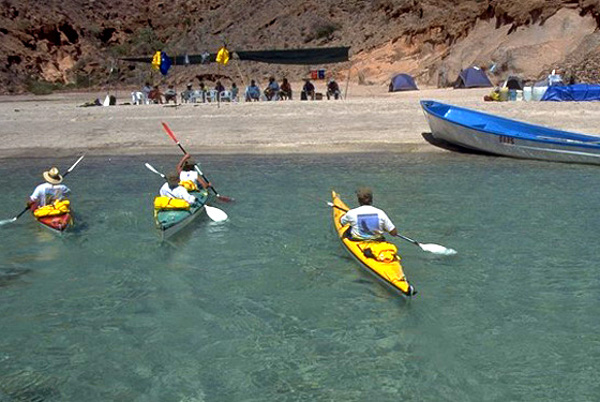 Kayaking trips in Baja