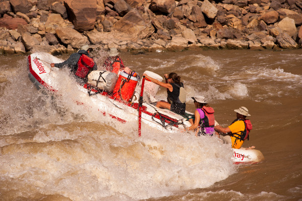 Whitewater Rafting on the Colorado River
