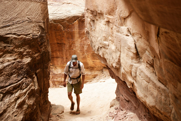 Slot Canyons on Colorado River Rafting Trips