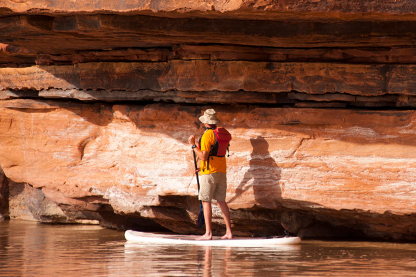 Colorado River Cataract Stand Up Paddleboarding