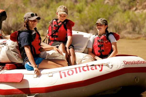 Family Rafting in Desolation Canyon
