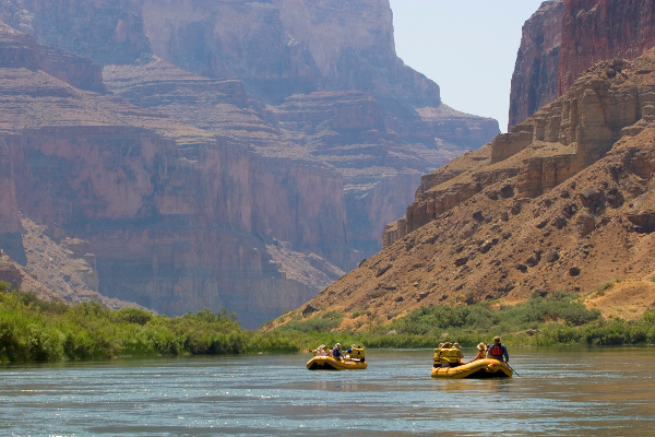 Whitewater Rafting Trips on the Colorado River
