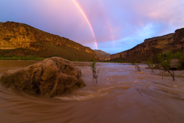 Desolation Green River Rainbow