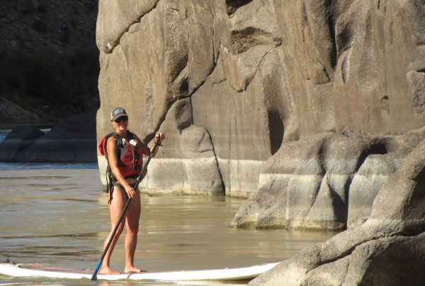 Stand-Up Paddleboarding on the Colorado River Trip