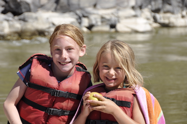 Family fun on Colorado Whitewater Rafting Trips