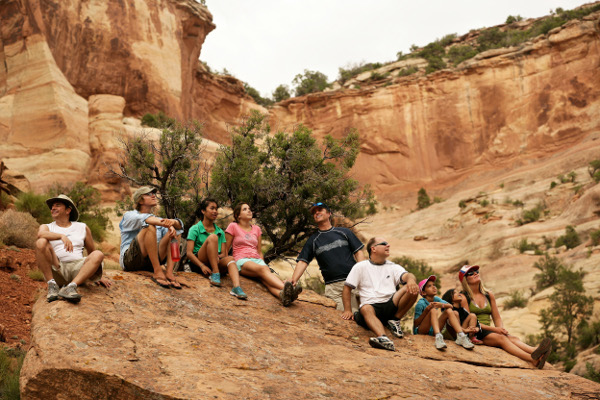 Excellent Hiking opportunities on Utah River Trips
