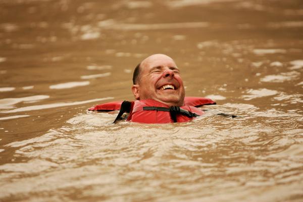 Adventure Swimming in the Colorado