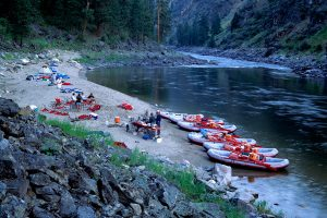 Camping on the Main Salmon River Trip
