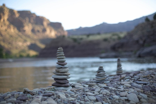 Wild Yoga on the Green River Rafting Trip