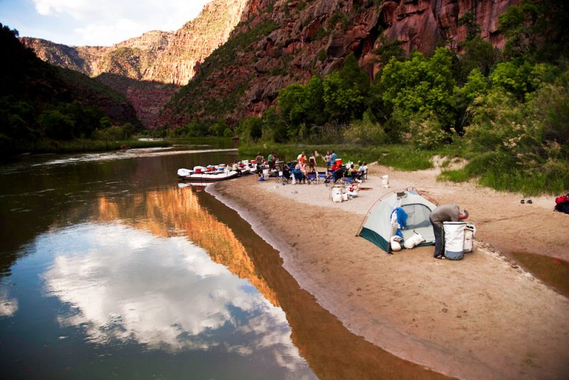 Green River Lodore Canyon Camp