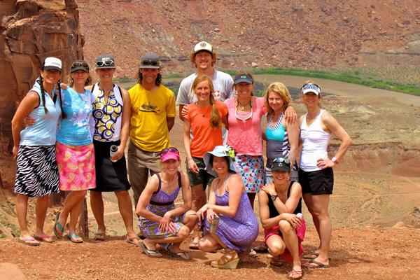 Group White Rim Trail Mountain Biking Trip