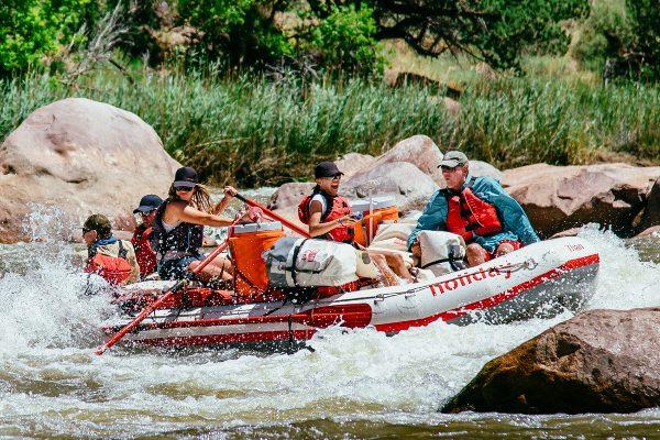 Green River Rafting Lodore Canyon