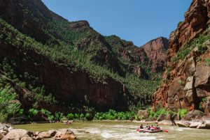 Lodore Canyon River Rafting Rapids