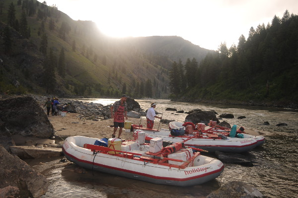 Main Salmon River Rafting Idaho Boats